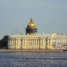 Senate and Synod Building and St. Isaac's Cathedral
