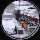 vessel in winter